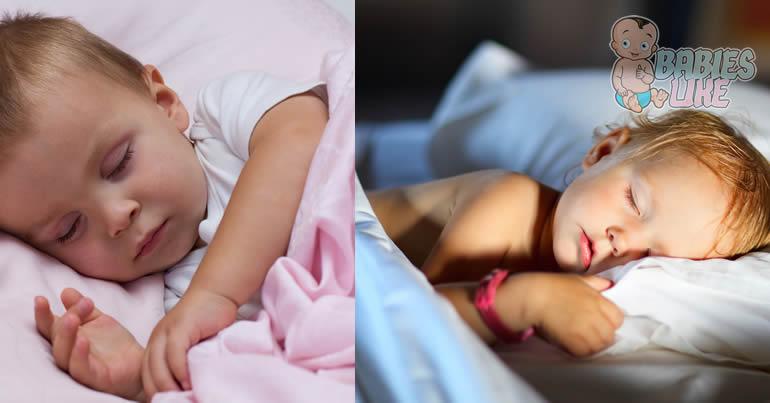 2 babies sleeping